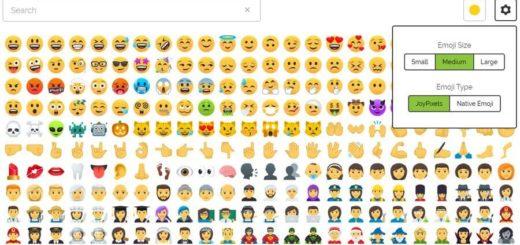 Bonitos Emojis gratis para copiar y pegar