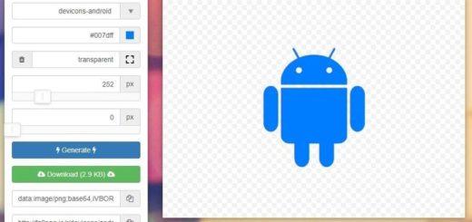 Convertir Icon Fonts en PNG