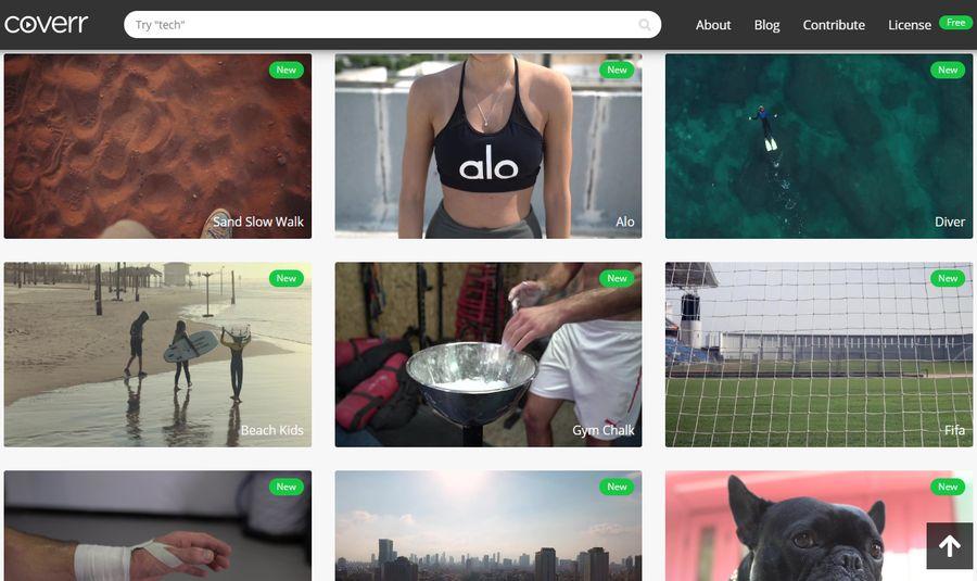 Descargar vídeos gratuitos para tus proyectos en la página de Coverr