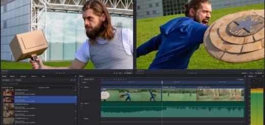 Editor de vídeo HitFilm Express