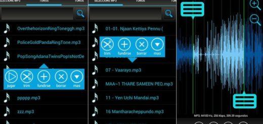 Mejor app para cortar Mp3 en Android