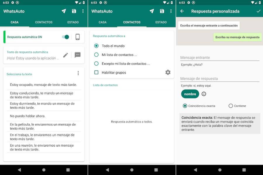 Responder automáticamente mensajes de WhatsApp con WhatsAuto