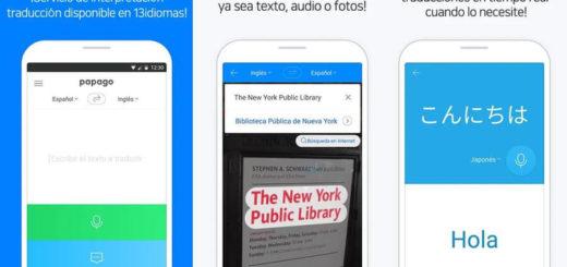 Traductor para Android gratis - Papago