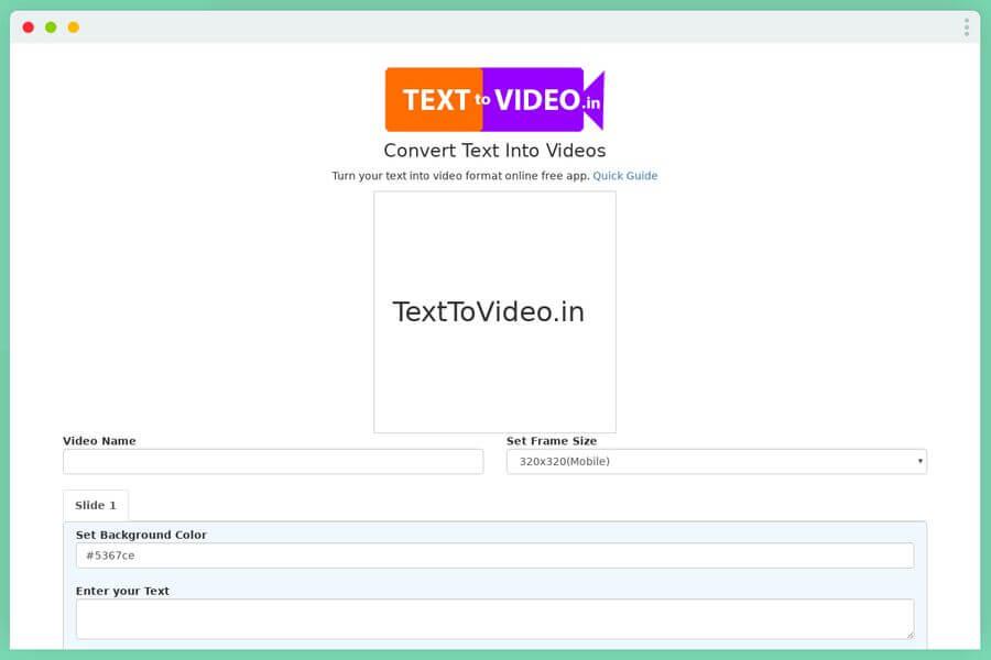 Cómo convertir texto a vídeo online y de forma gratuita