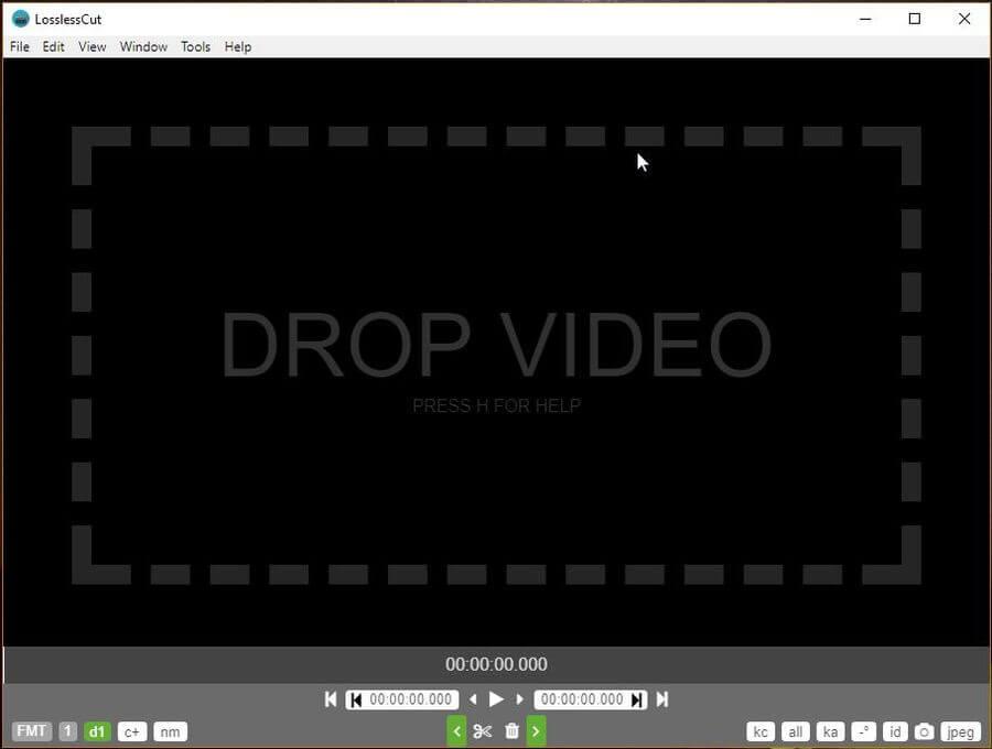 LosslessCut: software gratis para cortar audio y vídeo sin pérdidas