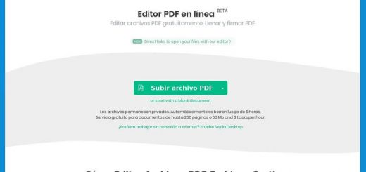 Mejor editor PDF online - Sejda