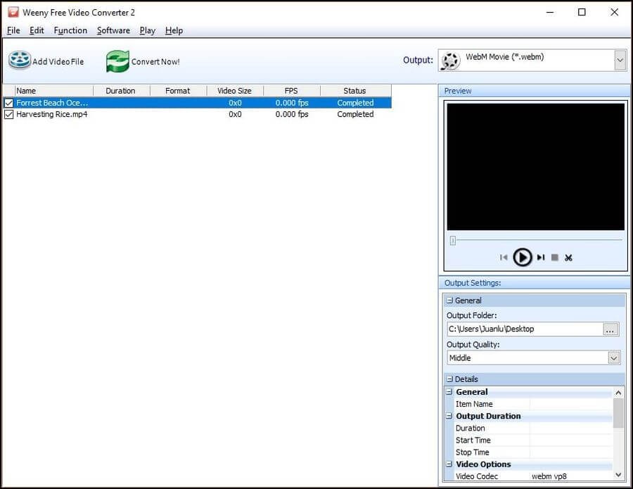 Software gratis para convertir vídeos entre múltiples formatos