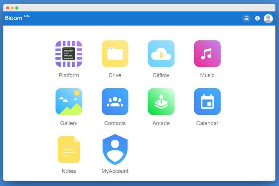 30 GB de almacenamiento online gratuitos y mucho más en Bloom
