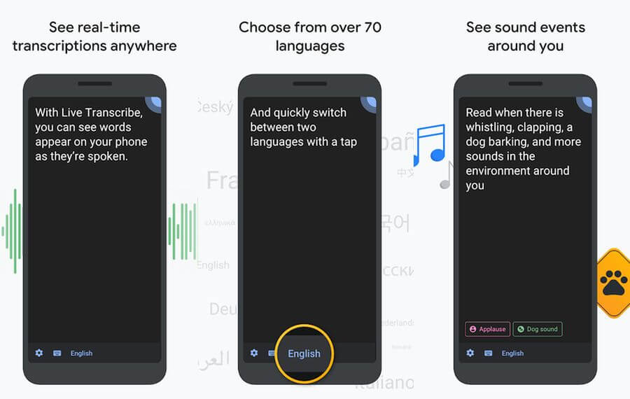 App de Transcripción instantánea de Google ya disponible en Google Play