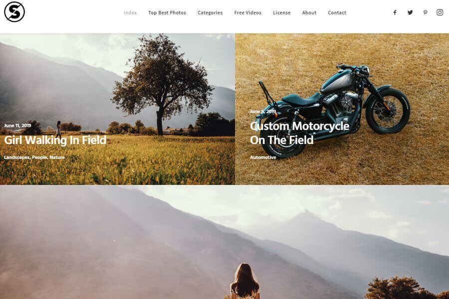 Banco de fotografías gratuitas para tus proyectos: SplitShire