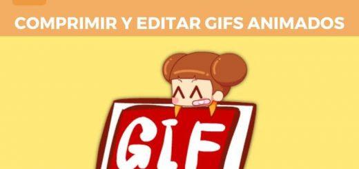 Comprimir y editar gifs animados