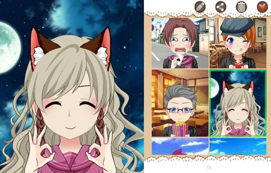 Crear avatar de tipo Anime