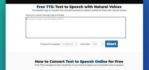 Aplicación web TTS