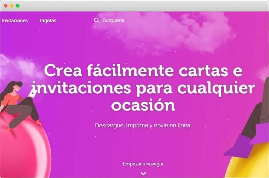 Crear Tarjetas E Invitaciones Online Y Gratis En Greetingsisland
