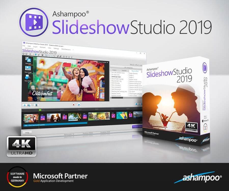 Crear vídeo presentaciones gratis con Ashampoo Slideshow Studio 2019