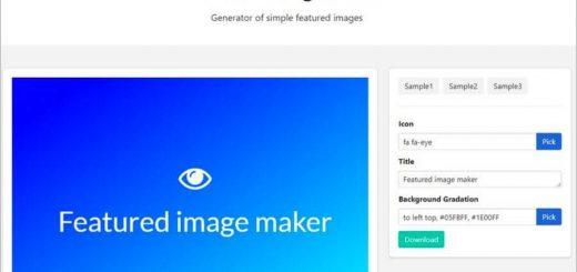 Generador de imágenes destacadas