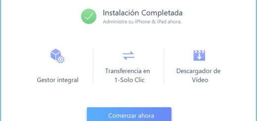 Gestión y transferencia de datos de iPhone