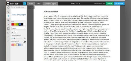 Mejor editor PDF gratuito y online