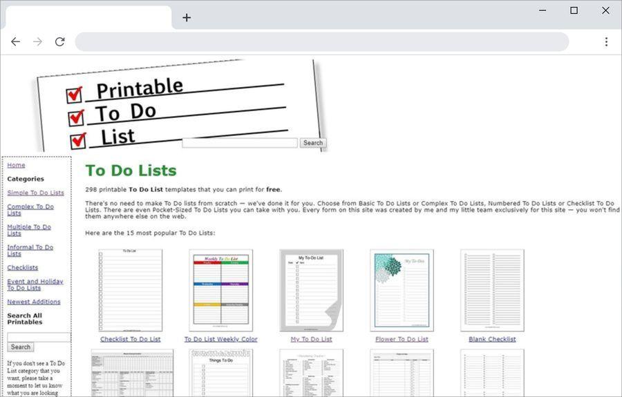 Plantillas de listas de tareas para imprimir y gratuitas