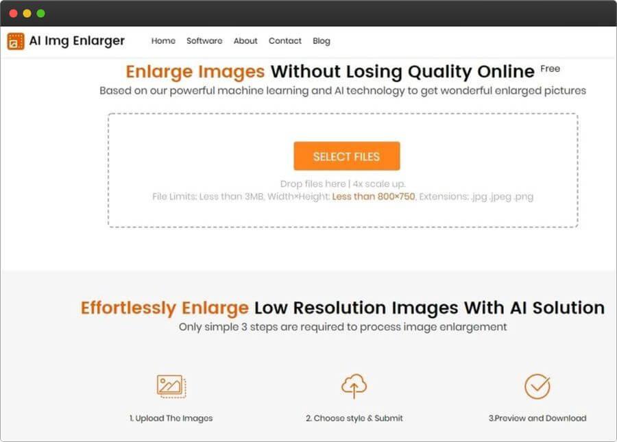 AI Img Enlarger: aumentar imágenes gratis sin perder calidad