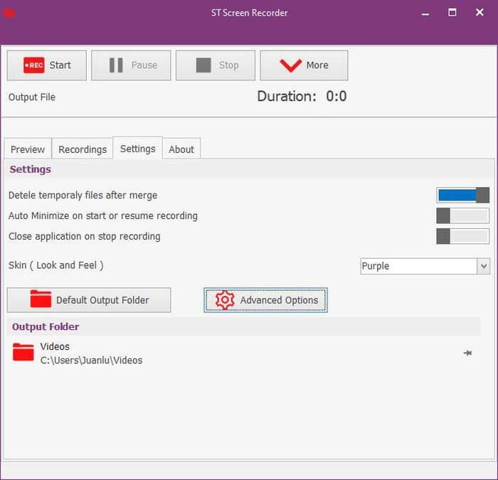 ST Screen Recorder: software gratuito para grabar la pantalla