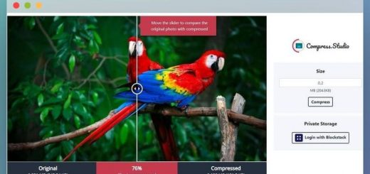 Comprimir imágenes con Compress Studio