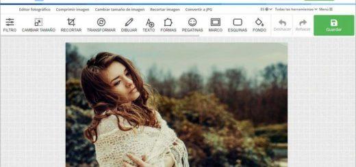 Editor fotográfico online y gratis