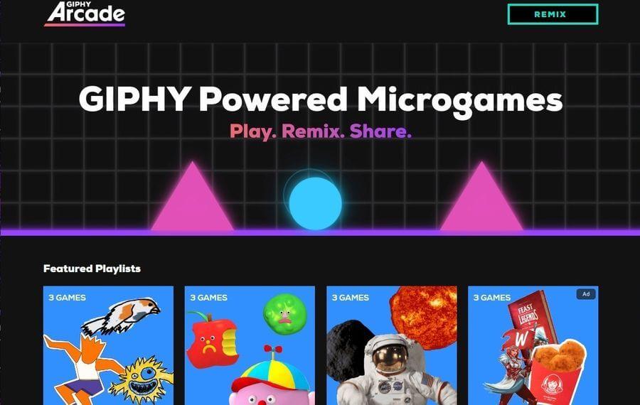 GIPHY Arcade: crear y compartir microjuegos con los GIFs de GIPHY
