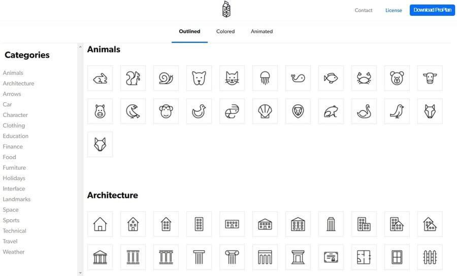 Milk Icons: más de 1000 iconos gratis para tus proyectos