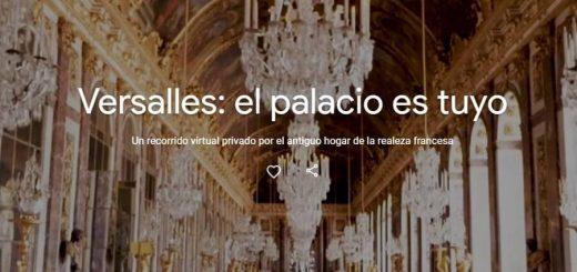 Recorrido virtual por Versalles