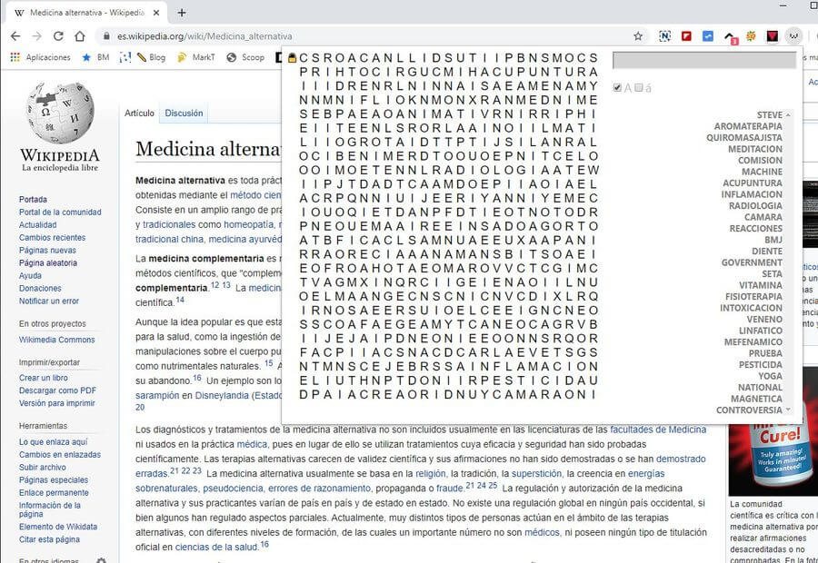 Wikipedia Crossword