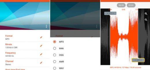 Convertir audio gratis en Android