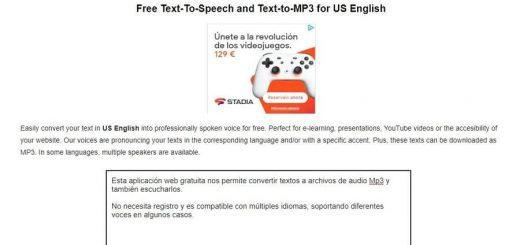 Convertir texto a Mp3 gratis