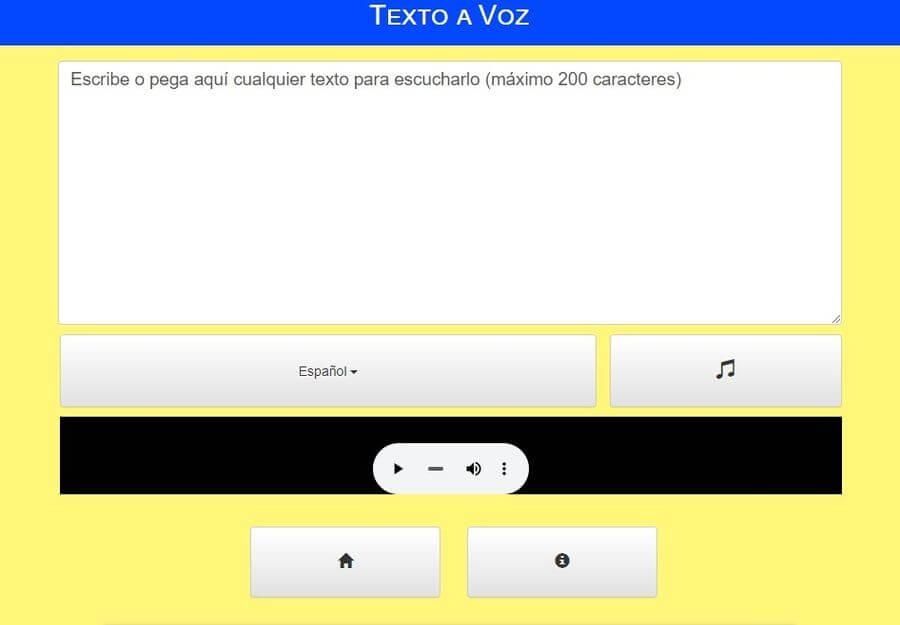 Convertir texto a Mp3 y voz online y gratis con Texto a Voz