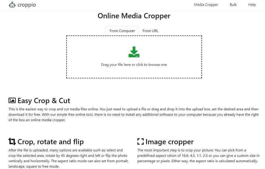 Cortar todo tipo de archivos multimedia online y gratis