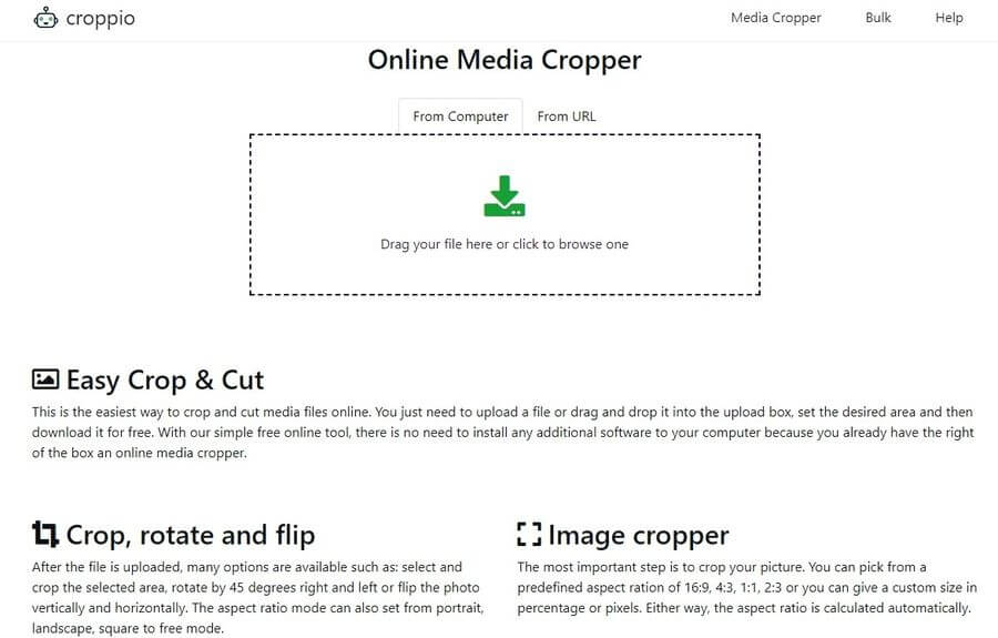 Cortar archivos multimedia online