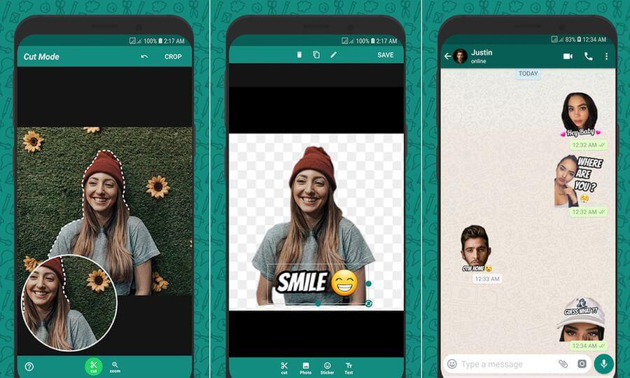 Crear stickers gratis para WhatsApp en Android con Wemoji