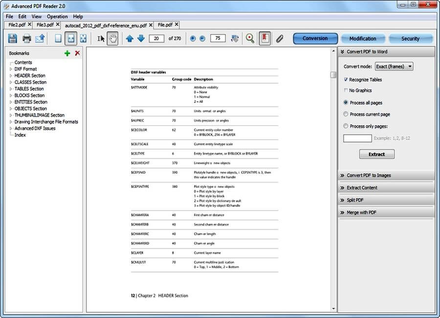 Editor y lector de PDF gratis: Advanced PDF Reader