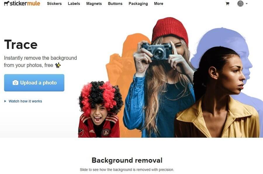 Eliminar fondo de fotos online y gratis de forma automática