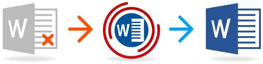 Reparación de documentos