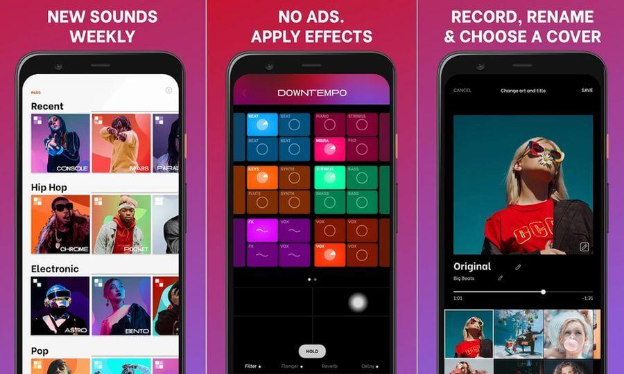 Aplicación gratuita para crear música en tu teléfono: Splash
