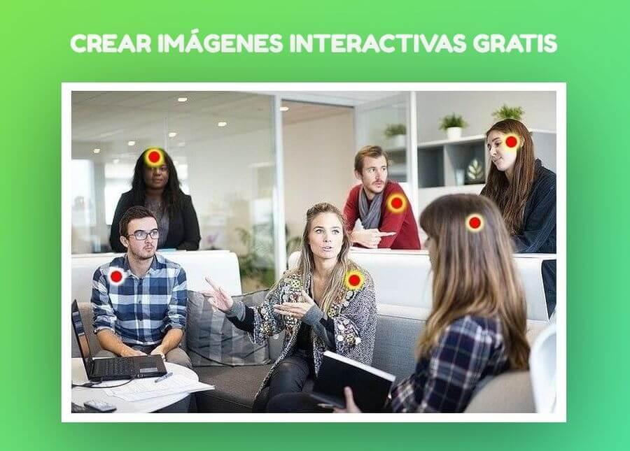 Crear imágenes interactivas gratis que puedes insertar en tu web