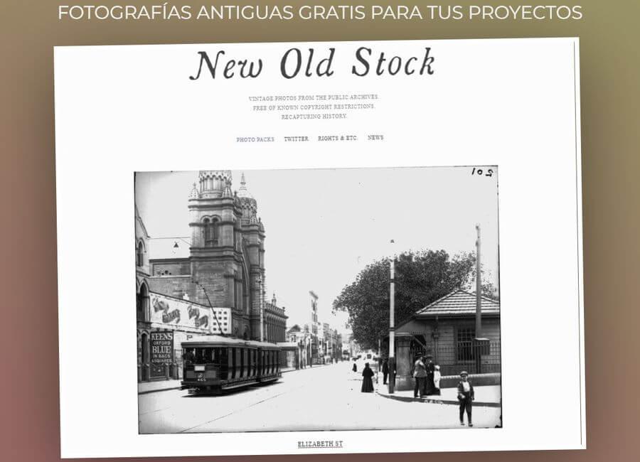 Fotografías antiguas gratis para usar en tus proyectos: New Old Stock