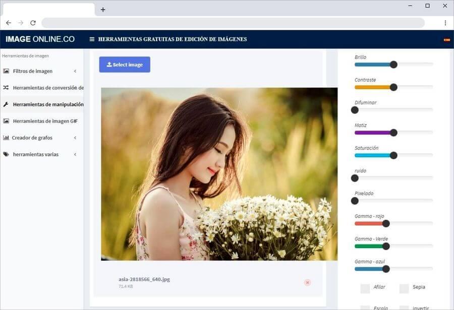 Herramientas gratuitas para editar imágenes online y fácilmente