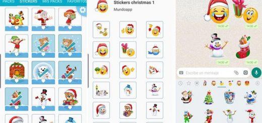 Stickers de Navidad para WhatsApp