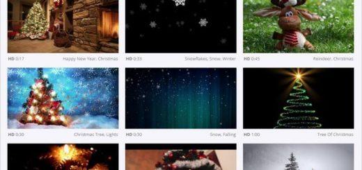 Vídeos de Navidad gratis para descargar