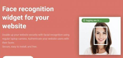 Widget de reconocimiento facial