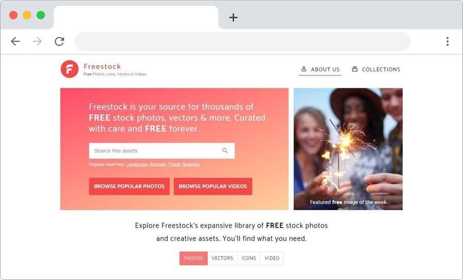 Banco de imágenes y vídeos gratis para descargar: Freestock