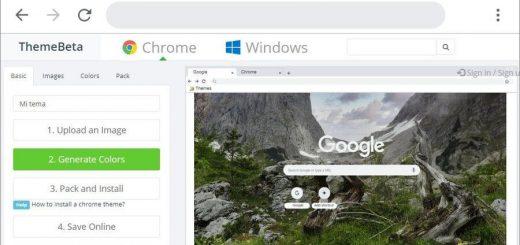 Cómo crear temas para Chrome