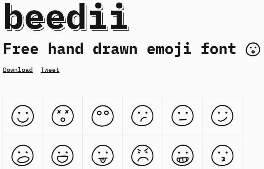 Colección de Emojis gratuitos